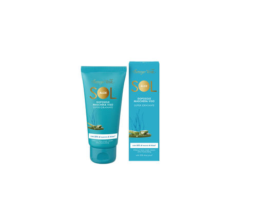Aloe Vera SOL After Sun -kasvonaamio, 50 ml